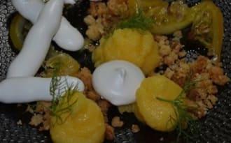 Dessert au citron pour la St Valentin