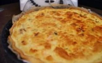 Quiche fruits de mer et saumon