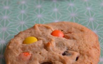 Cookies au beurre de cCacahuète et reese's