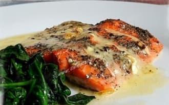 Pavés de saumon à l'Epoisses