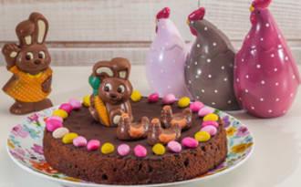 Fondant au chocolat spécial Pâques