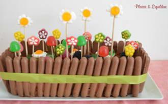 Jardinière au chocolat