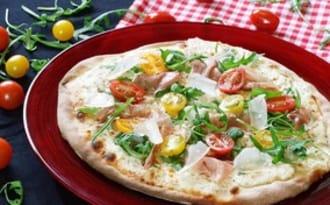 Pizza blanche mozzarella-ricotta