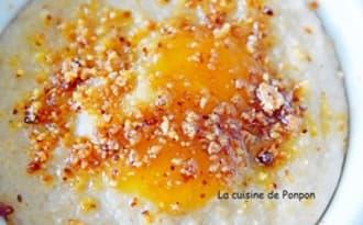 Crème au fonio semi-complet