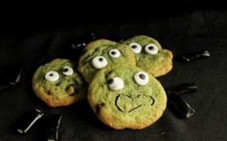 Cookies monstres fondus