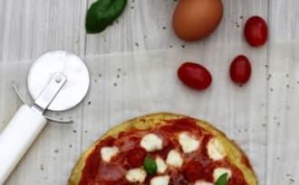 Omelette façon pizza