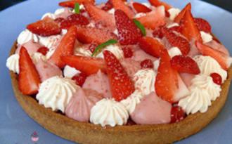 Tarte aux fraises inspirées