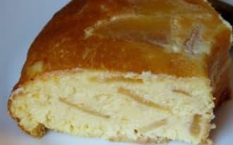 Gâteau aux pommes au brocciu et ricotta