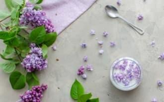 Sucre au lilas