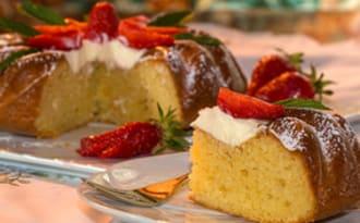 Gâteau moelleux au mascarpone