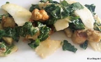 Salade de Pak Choï au pomme