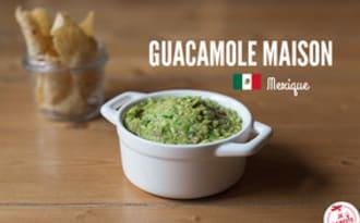 Guacamole mexicain facile à réaliser