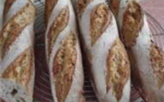 Baguettes Bio à la Farine de Froment