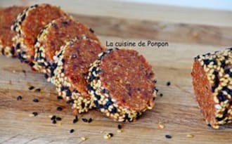 Barre amande cranberries et goji, vegan
