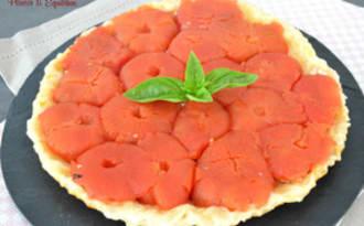 Tarte tatin aux tomates farcies