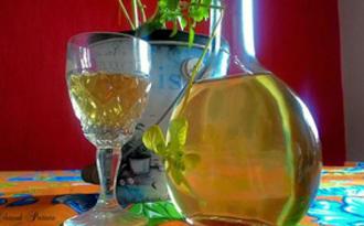 Liqueur au basilic