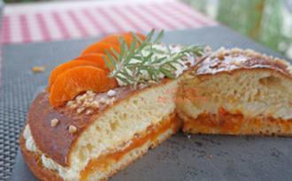 Tropézienne abricots et romarin