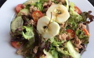 Idees De Recettes A Base De Salade Verte Et De Thon