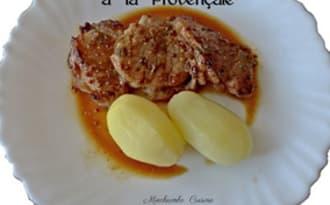 Filet mignon de porc mariné à la provençale