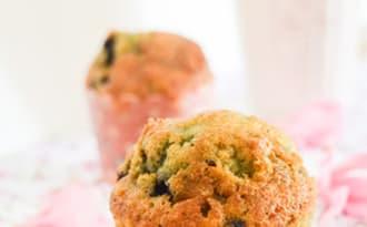 Muffins ultra moelleux à la myrtille