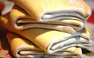 Pâte levée feuilletée