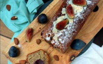 Cake aux figues et amandes