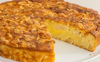 Gâteau aux pommes et au riz