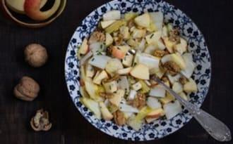 Salade d'endives au bleu des Vosges