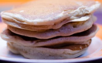 Pancakes au Kinder Maxi