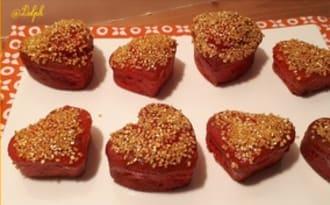Petits gâteaux oranges