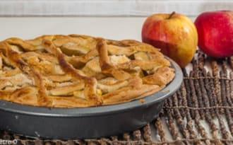 Crostata de pommes et amandes
