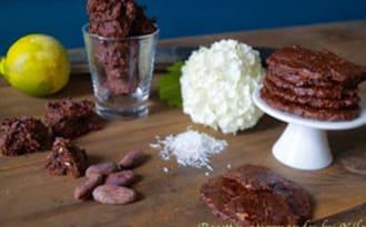 Biscuits choco-coco au sarrasin