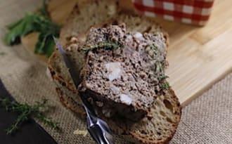 Terrine de foies de volaille à la provençale