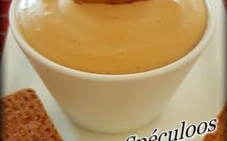 Crème goût spéculoos