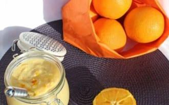 Crème à l'orange façon orange curd