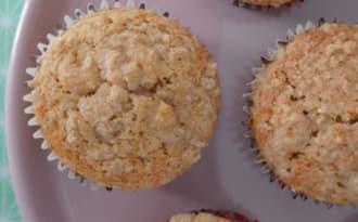 Muffins pomme cannelle croustillants