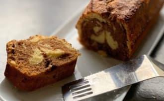 Marbré au chocolat et vanille façon savane de Brossard