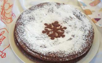 Gâteau chocolat et fromage blanc