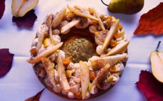 Tarte poires et gingembre de Nicolas Bacheyre - L'Entracte Gourmand