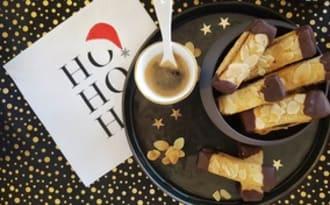 Bâtonnets chocolat amande et confiture