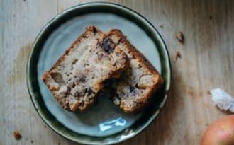 Cake pomme châtaigne & chocolat