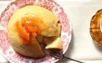 Pudding vapeur au pain et aux oeufs