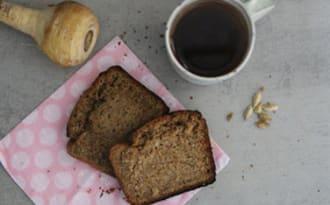Cake panais-cardamome-café