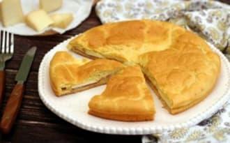Gâteau salé façon croque-monsieur