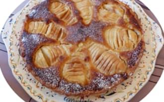 Tarte Bourdaloue aux poires