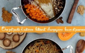 One pot pasta d'automne