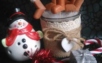 Les jolies bottes du Père-Noël