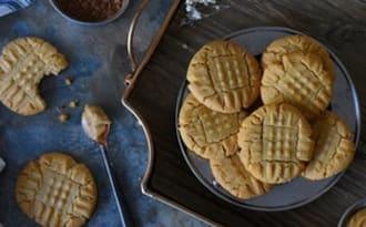 Cookies au beurre de d'arachide