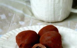 Truffes chocolat noir et lait
