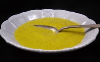 Soupe de courgettes toute simple